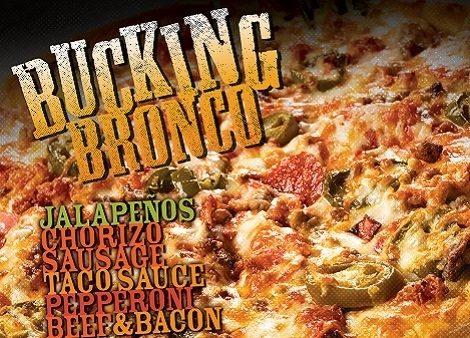 Bucking Bronco Pizza