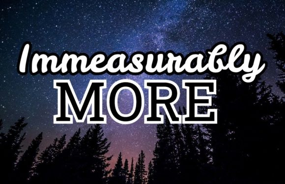 "Galaxy with ""Immeasurably more"""