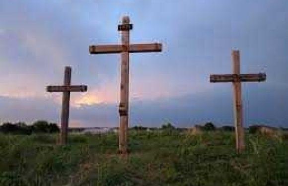 Cross on Easter
