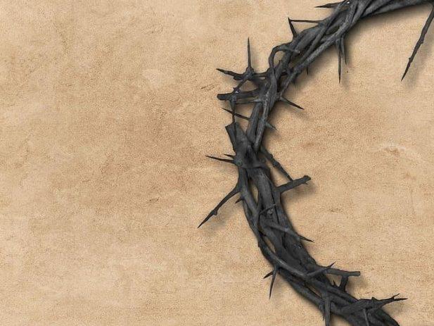 Jesus god bible thorn