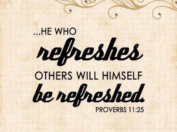Votd proverbs11 25