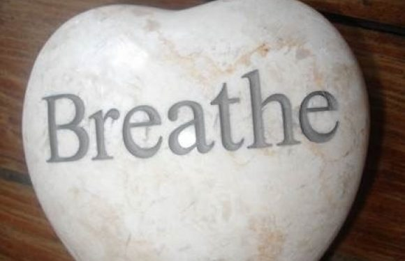 Rock That Says Breathe